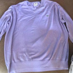 Women's LACOSTE Size 6 Sweater